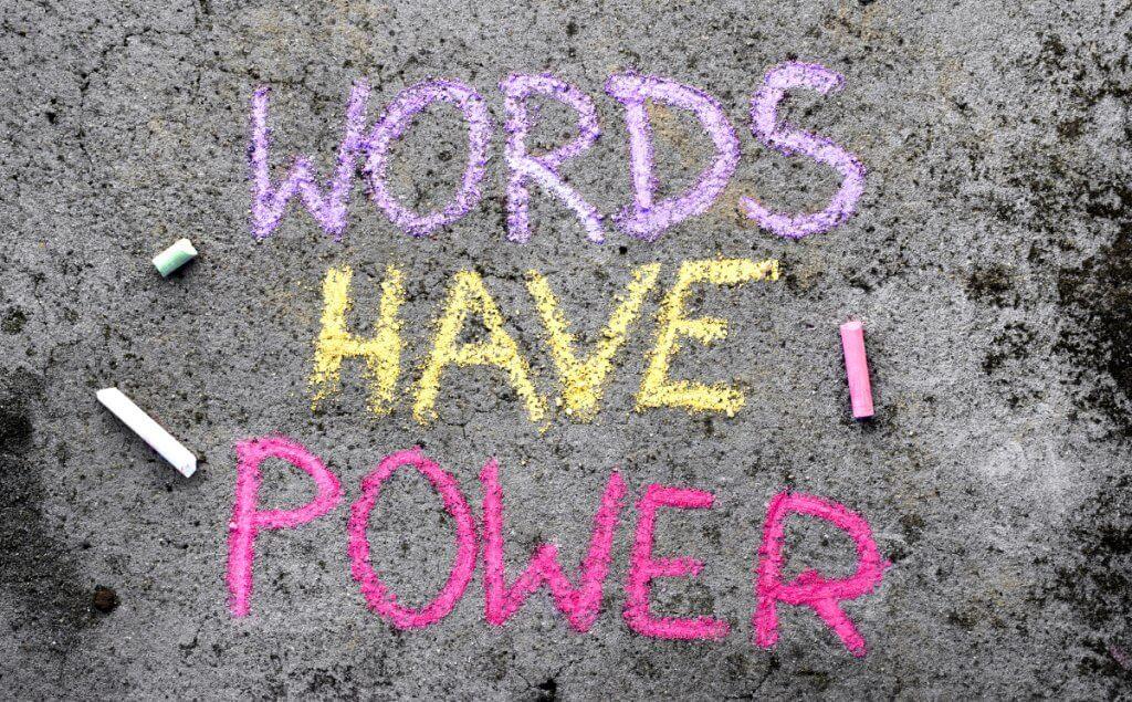 Palavras tem poder